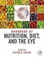 Handbook of nutrition, diet and the eye için kapak resmi
