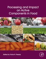 Processing and impact on active components in food için kapak resmi