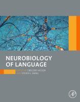 Neurobiology of language için kapak resmi