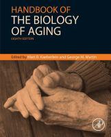 Handbook of the biology of aging için kapak resmi