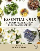 Essential oils in food preservation, flavor and safety için kapak resmi