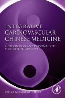 Integrative cardiovascular Chinese medicine a prevention and personalized medicine perspective için kapak resmi