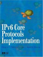 IPv6 core protocols implementation için kapak resmi