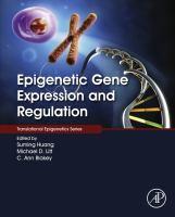 Epigenetic gene expression and regulation için kapak resmi