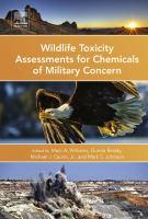 Wildlife toxicity assessments for chemicals of military concern için kapak resmi