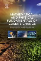 Mathematical and physical fundamentals of climate change için kapak resmi