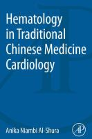 Hematology in traditional Chinese medicine cardiology için kapak resmi