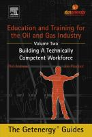 Education and training for the oil and gas industry. Volume 2, Building a technically competent workforce için kapak resmi