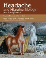 Headache and migraine biology and management için kapak resmi