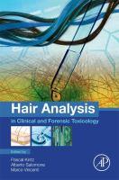 Hair analysis in clinical and forensic toxicology için kapak resmi