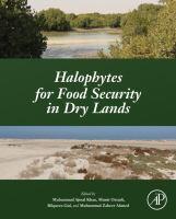 Halophytes for food security in dry lands için kapak resmi