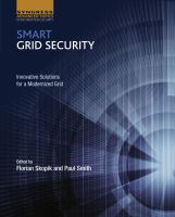 Smart grid security : innovative solutions for a modernized grid için kapak resmi