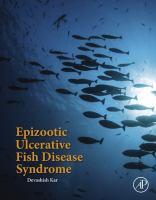 Epizootic ulcerative fish disease syndrome için kapak resmi