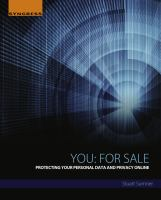 You: for sale : protecting your personal data and privacy online için kapak resmi