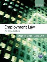 Employment law : an introduction için kapak resmi