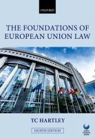 The foundations of European Union law : an introduction to the constitutional and administrative law of the European Union için kapak resmi