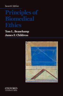 Principles of biomedical ethics için kapak resmi