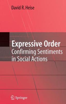 Expressive Order Confirming Sentiments in Social Actions için kapak resmi