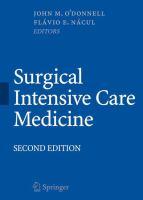 Surgical Intensive Care Medicine için kapak resmi