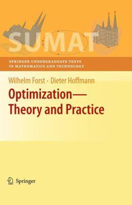 Optimization—Theory and Practice için kapak resmi