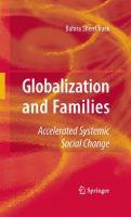 Globalization and Families Accelerated Systemic Social Change için kapak resmi