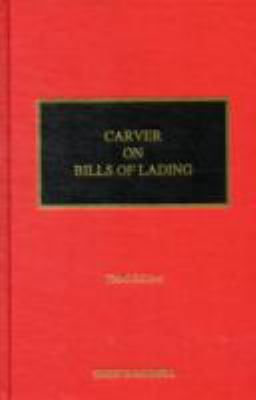 Carver on bills of lading için kapak resmi
