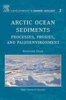 Arctic ocean sediments processes, proxies, and paleoenvironment için kapak resmi