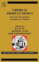 Chemical product design toward a perspective through case studies için kapak resmi