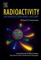 Radioactivity INTRODUCTION AND HISTORY. için kapak resmi