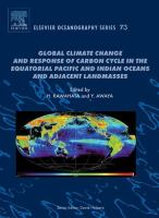 Global climate change and response of carbon cycle in the equatorial Pacific and Indian oceans and adjacent landmasses için kapak resmi