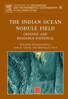 The Indian Ocean nodule field geology and resource potential için kapak resmi