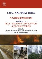 Coal and peat fires: a global perspective. Volume 4, Peat -- geology, combustion, and case studies için kapak resmi