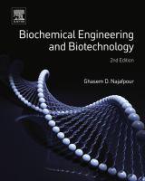 Biochemical engineering and biotechnology için kapak resmi