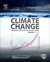 Climate change : observed impacts on planet Earth için kapak resmi