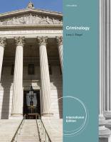 Criminology için kapak resmi