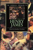 The Cambridge companion to Henry James için kapak resmi