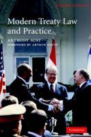 Modern treaty law and practice için kapak resmi