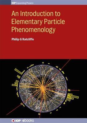 An introduction to elementary particle phenomenology için kapak resmi