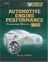 Automotive Engine Performance için kapak resmi
