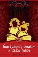 From children's literature to readers theatre için kapak resmi