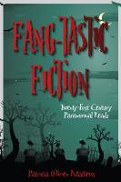Fang-tastic fiction twenty-first-century paranormal reads için kapak resmi