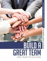 Build a great team:  one year to success! (ALA guides for the busy librarian) için kapak resmi