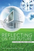 Reflecting on the future of academic and public libraries için kapak resmi
