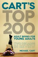 Cart's top 200 adult books for young adults:  two decades in review için kapak resmi