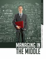 Managing in the middle:  the librarian's handbook (ALA guides for the busy librarian) için kapak resmi