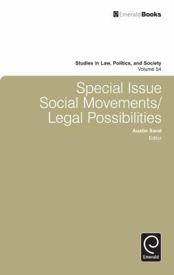 Special issue social movements/legal possibilities için kapak resmi