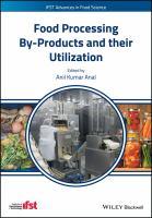 Food processing by-products and their utilization için kapak resmi