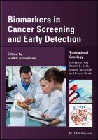 Biomarkers in cancer screening and early detection için kapak resmi