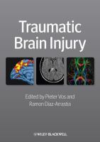 Traumatic brain injury için kapak resmi