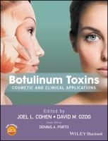 Botulinum toxins : cosmetic and clinical applications için kapak resmi